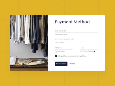 Credit Card Payment ui checkout credit card checkout payment form credit creditcard payment app payment method payment
