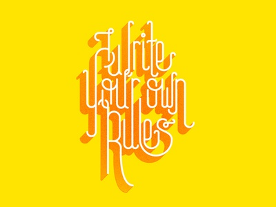 Write your own rules