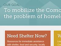 Local non-profit website