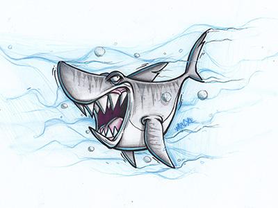 Sharkweek sharkweek shark sketch cybirds cybe uselesshastags