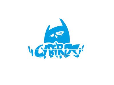 Cybirds Logo cybirds cybe logo illustrator icon cyan