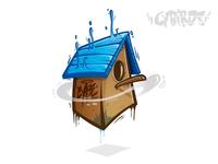 Birdhouse - Vector