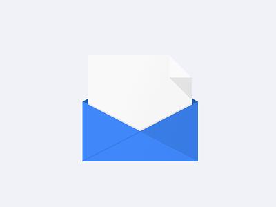 Flat Envelope flat google kennedy envelope mail icon chrome post letter
