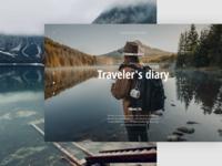 Web site Traveler's diary