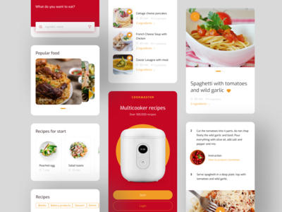 Multicooker recipes app