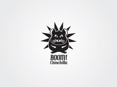 Boom Chinchilla Concept 1 boom chinchilla grey animal character illustration