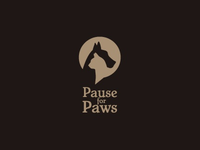 Pause For Paws Concept 1 by Claire Hayes on Dribbble