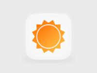 AccuWeather Icon iOS 7
