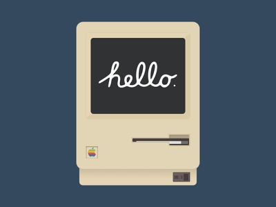 The Original Macintosh freebie rebound practice apple macintosh