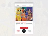 Asian Art Gallery Auction App