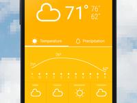 WIP Weather Screen