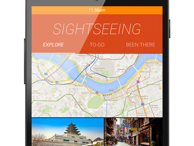 Sightseeing sightseeing explore android material flat travel