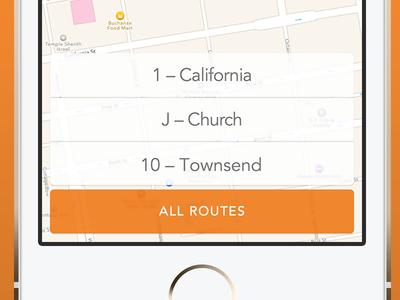 Favorites ios favorites mybus bus transport flat map