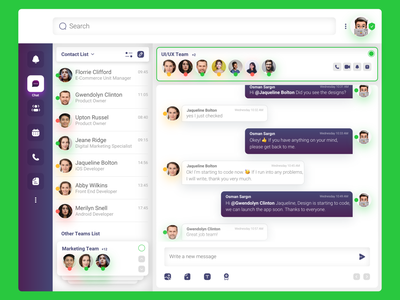 Microsoft Teams App Re-Design UI Kit social chat macos application branding uiux design mac app desktop app teams microsoft graphic design ux ui redesign app