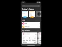 Reminders App Design