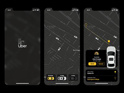 Uber Redesign Challenges uber design uiux ios mobile app motion design uidesign uber