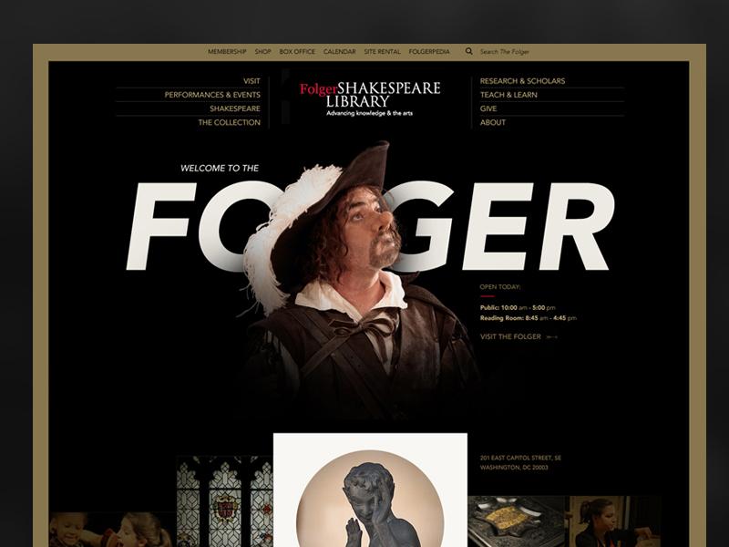 Folger cover copy