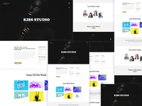 Free PSD For Corporate, Agency & Creative Studio