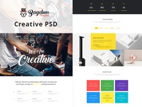 Website Template for Creative Agency