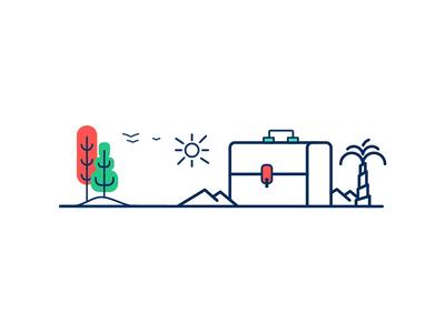 Return to innocence logo creative illustration animation art