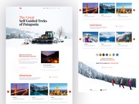 Travel agency landing page agency tourism tour travel website travel app travel