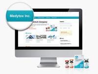 Medytox academy Website