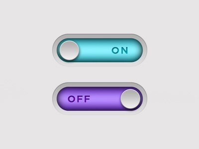 Daily Ui #015 - On / Off Switch app click toggle clean daily ui ux ui button switch off on