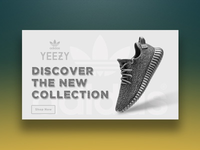 Daily Ui #016 - Pop Up / Overlay ux ui shoes sneakers adidas yeezy app web overlay pop up 016 daily ui