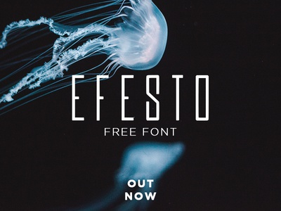 Efesto Free Font | Out Now design typo letters type graphic efesto free font font freebie free