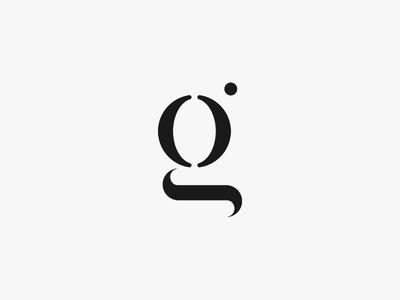 """g"" black calligraphy flat symbol mark typography letter g brand branding logo logotype"