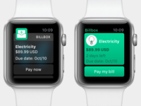 Apple Watch UI test