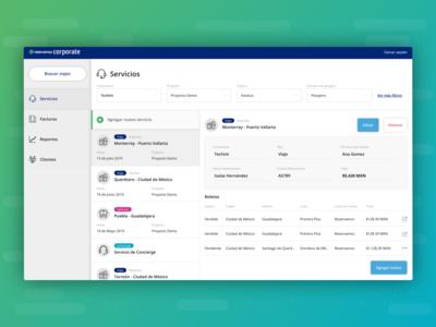 Reservamos Corporate Admin App