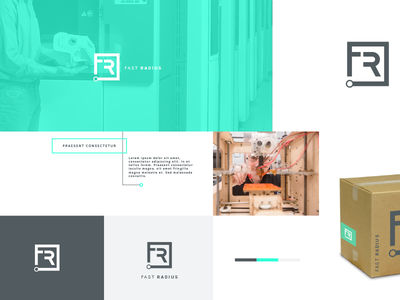 3d Printing Company Concept startup technology atlanta logotype typography type branding mark identity logo design logo