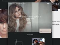 Keune Homepage