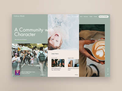 Community Driven Design WIP creative atlanta web design web layout community neighborhood uxdesign ux ui uidesign