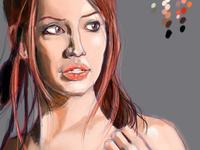 Female sketch study