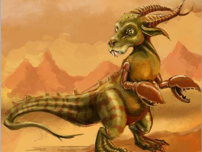 alien kangaroo WIP