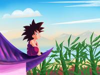 Kid Goku !!