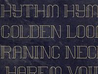 Vows Font