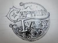Captain Ivory Concept Sketch