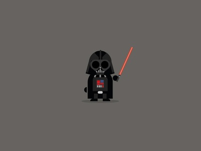 Darth Vader minimalist css version