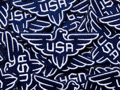 Usa Patch eagle patch eagle logo design patchgame patch design usa patch patch america merica usa logo usa