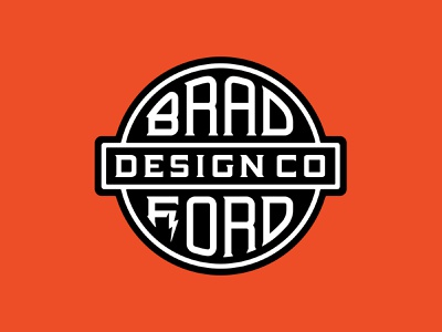 Bradford Type Design goodtype branding badge design design bradford brad bolt retrotype classic sign typography logo typogaphy typedesign type