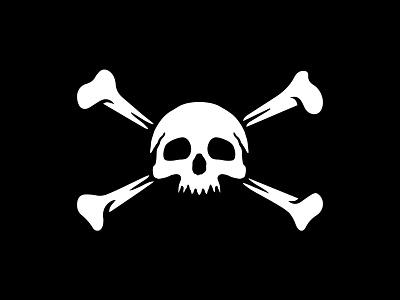 Skull & Cross Bones illustration logomania bradforddesignco bradforddesign bradford logo branding marauder pirateflag skullcrossbones skullnbones skull