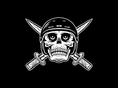 Skull & Swords wutang protectyaneck protectayhead bradforddesignco bradforddesign branding logo illustration spygraphic spyoptic spy snowhelmet snow skate skullbones skullgraphic skullswords skull