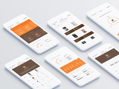 Smart coffee machine app