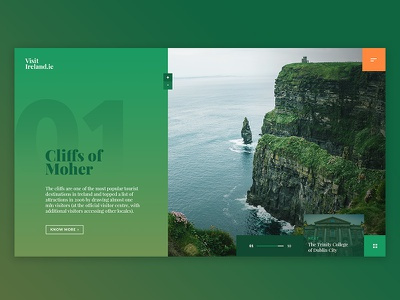 Visit Ireland UI / Cliffs of Moher cliffs of moher layout home tourism ireland ui