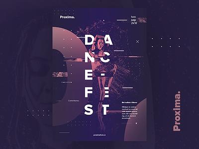 Proxima DanceFest Poster