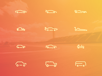 Icon Set_Cars