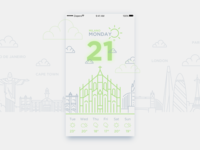 Daily UI #10_Weather Widget